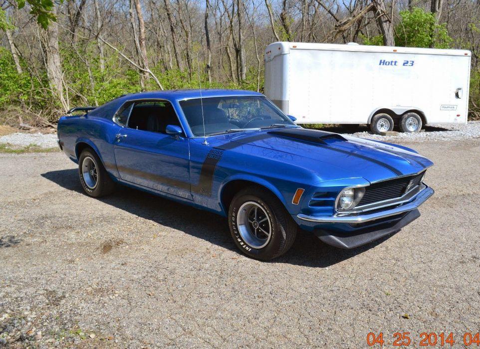 1969 Ford Mustang Boss 302 Fastback cars wallpaper