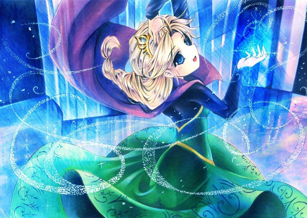 Frozen Disney Elsa the Snow Queen wallpaper