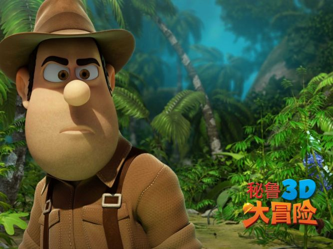 TAD LOST EXPLORER animated cartoon family adventure poster wallpaper