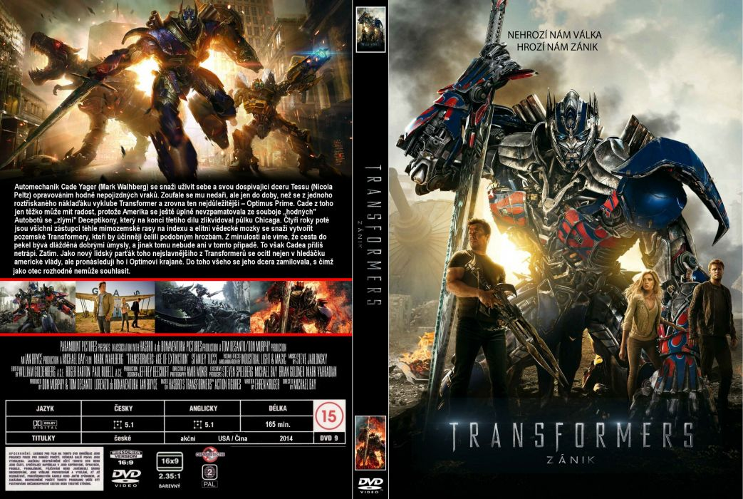 TRANFORMERS AGE EXTINCTION sci-fi futuristic fighting mecha poster wallpaper