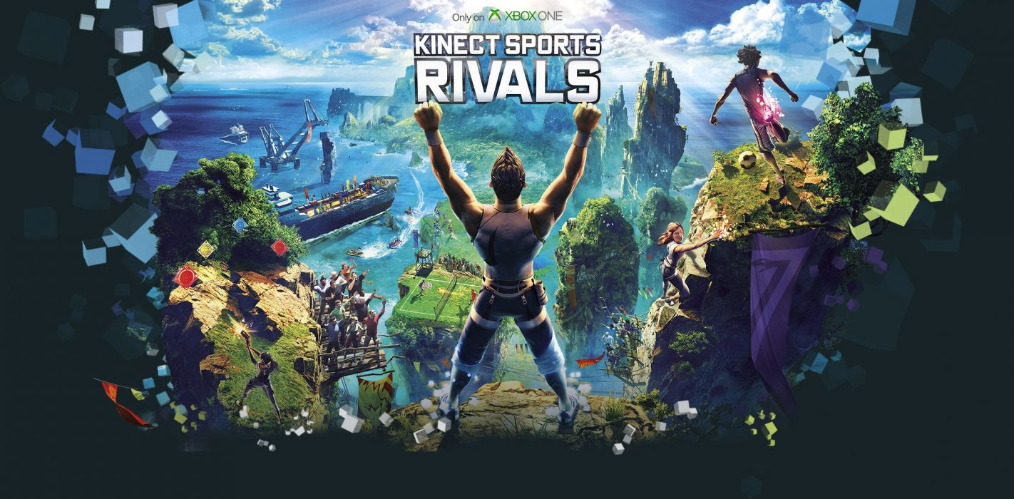 KINECT SPORTS soccer baseball football tennis track 1kinect xbox microsoft sport game poster wallpaper