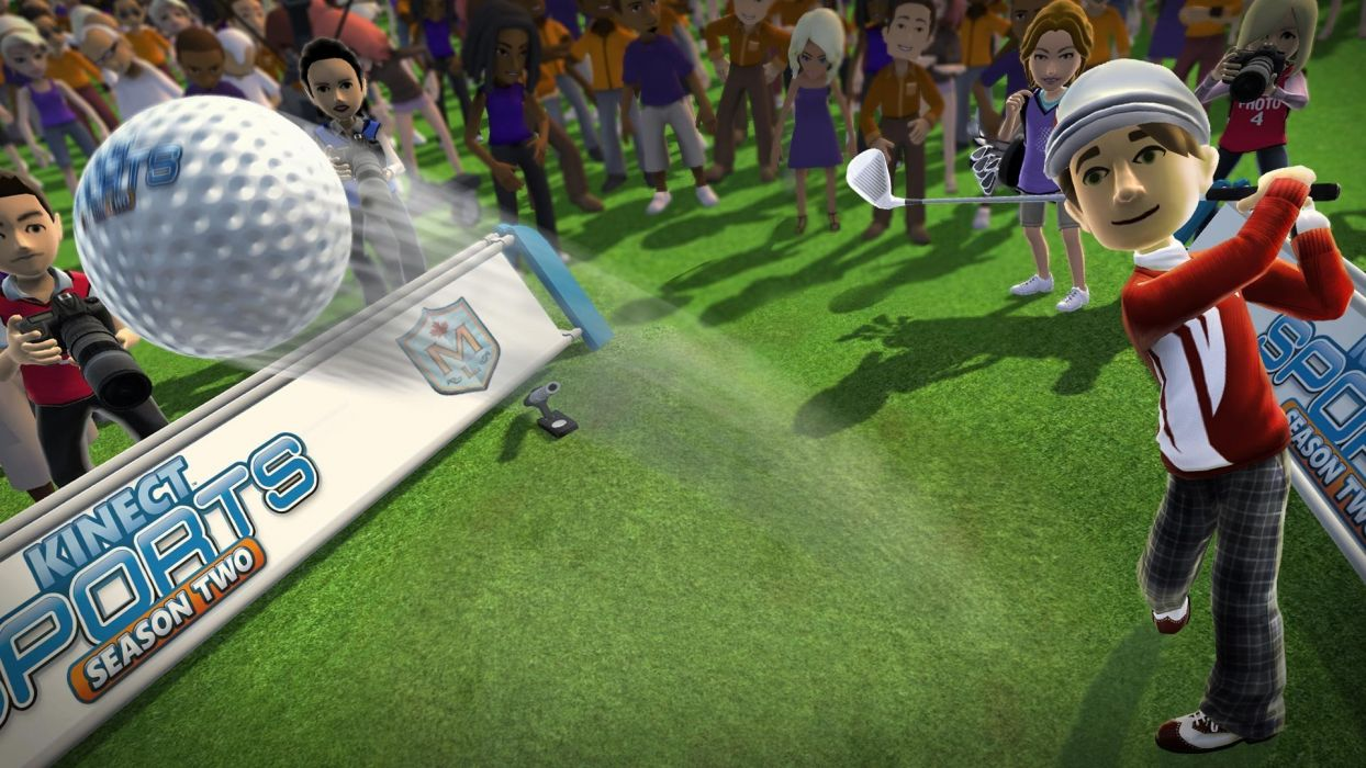 KINECT SPORTS soccer baseball football tennis track 1kinect xbox microsoft sport game wallpaper