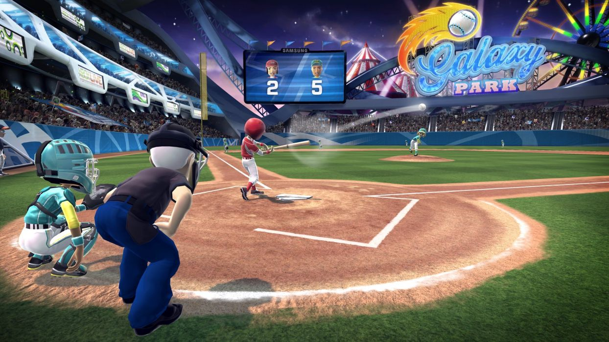 KINECT SPORTS soccer baseball football tennis track 1kinect xbox microsoft sport game wallpaper