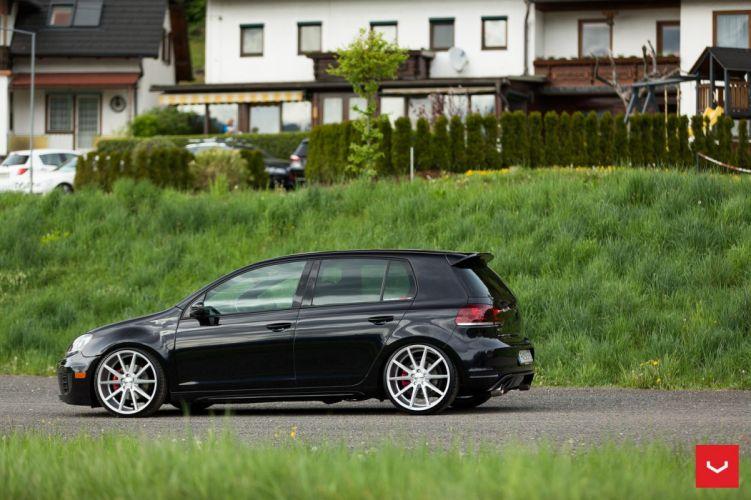 V W Mk6 Golf GTI Vossen WHEELS cars wallpaper