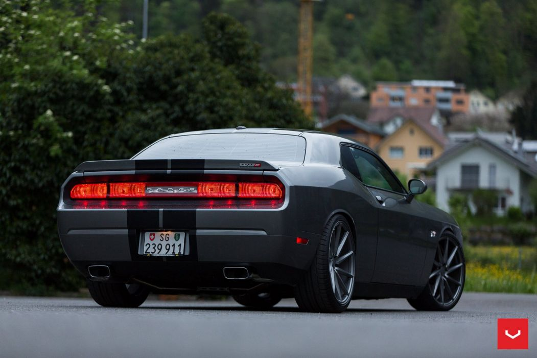 Dodge Challenger SRT 392 Hemi Vossen WHEELS cars wallpaper
