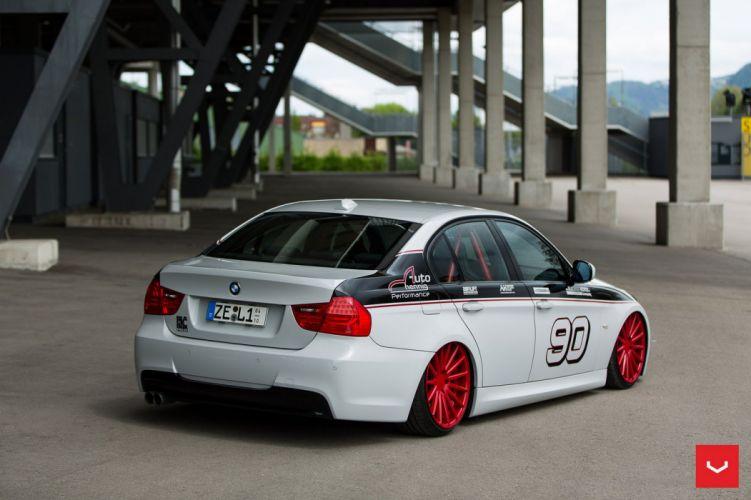 BMW E90 3-Series Vossen WHEELS cars wallpaper