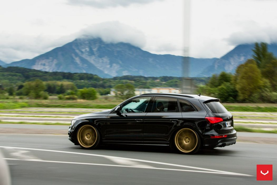 Audi SQ5 Vossen WHEELS cars suv black wallpaper