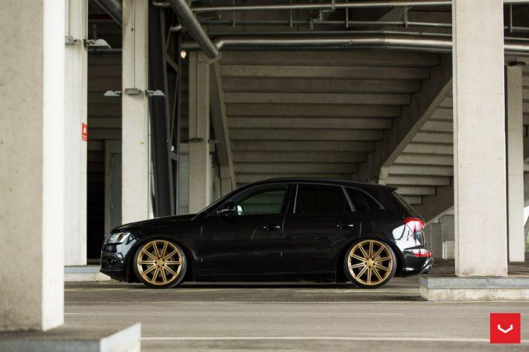 Audi SQ5 Vossen WHEELS cars suv black wallpaper
