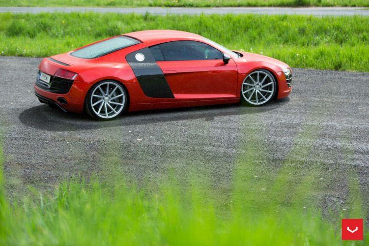 Audi-r8 Vossen WHEELS cars coupe wallpaper