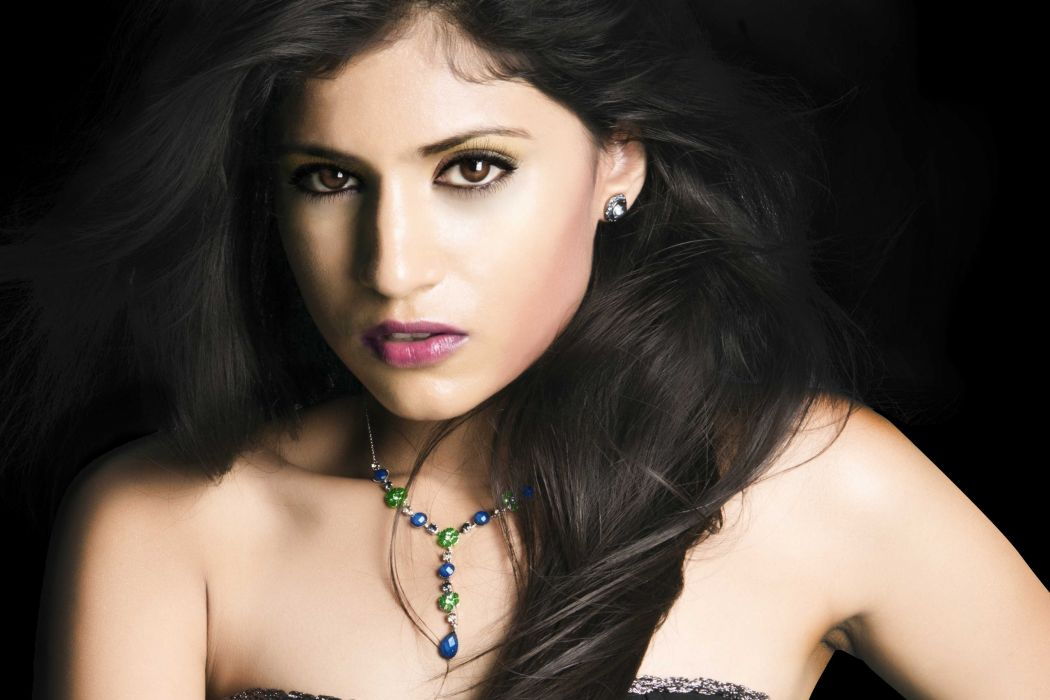 Shweta Pandit bollywood actress model girl beautiful brunette pretty cute beauty sexy hot pose face eyes hair lips smile figure indian  wallpaper