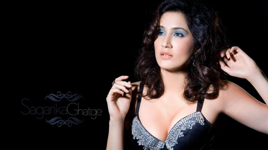 sagarika ghatge bollywood actress model girl beautiful brunette pretty cute beauty sexy hot pose face eyes hair lips smile figure indian wallpaper