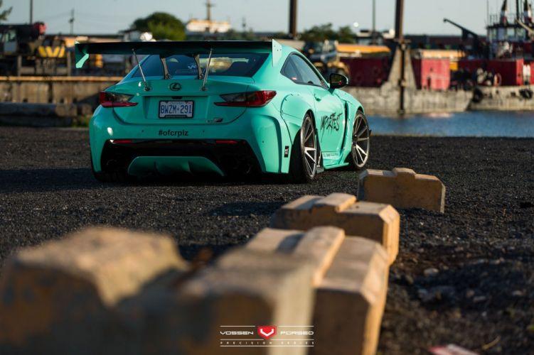 Rocket Bunny Lexus-RC Vossen Wheels coupe cars modified wallpaper