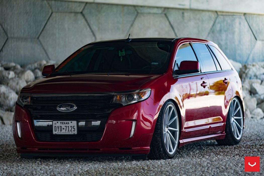 Ford Edge Wheels cars suv red wallpaper