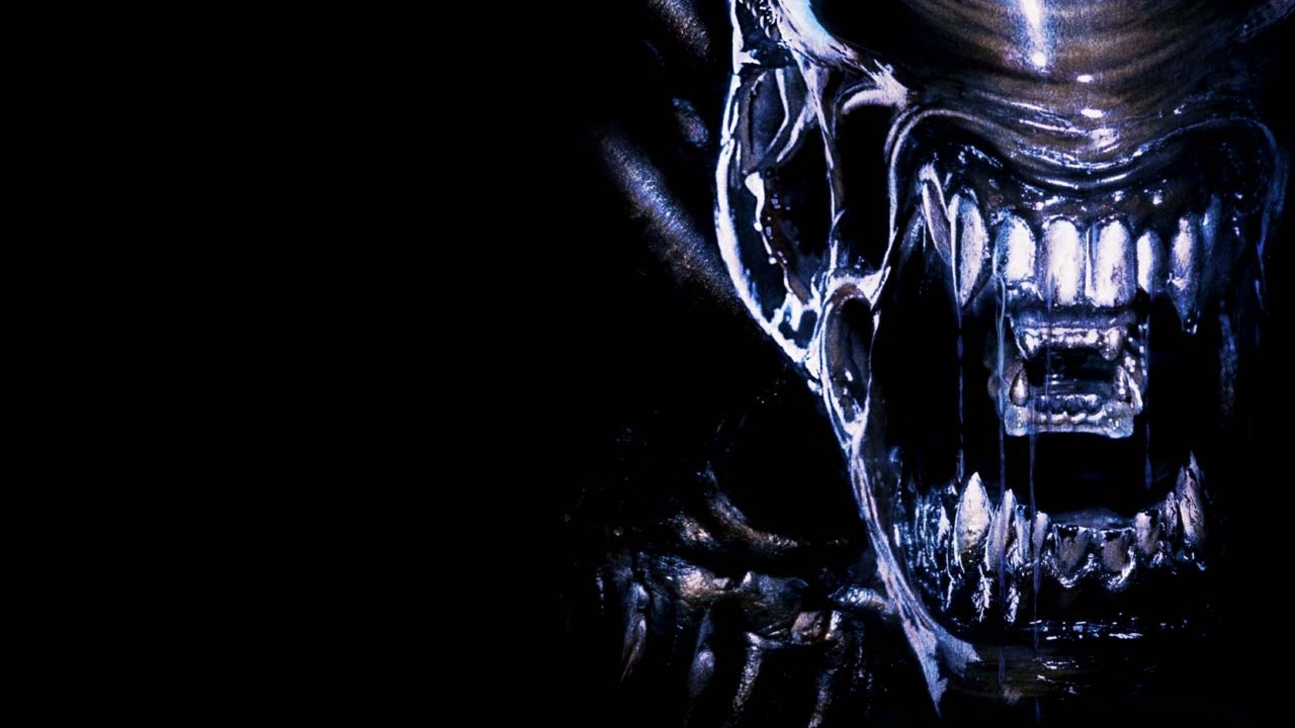 Sci Fi Wallpaper 2560x1440: ALIEN Horror Sci-fi Futuristic Dark Aliens Creature