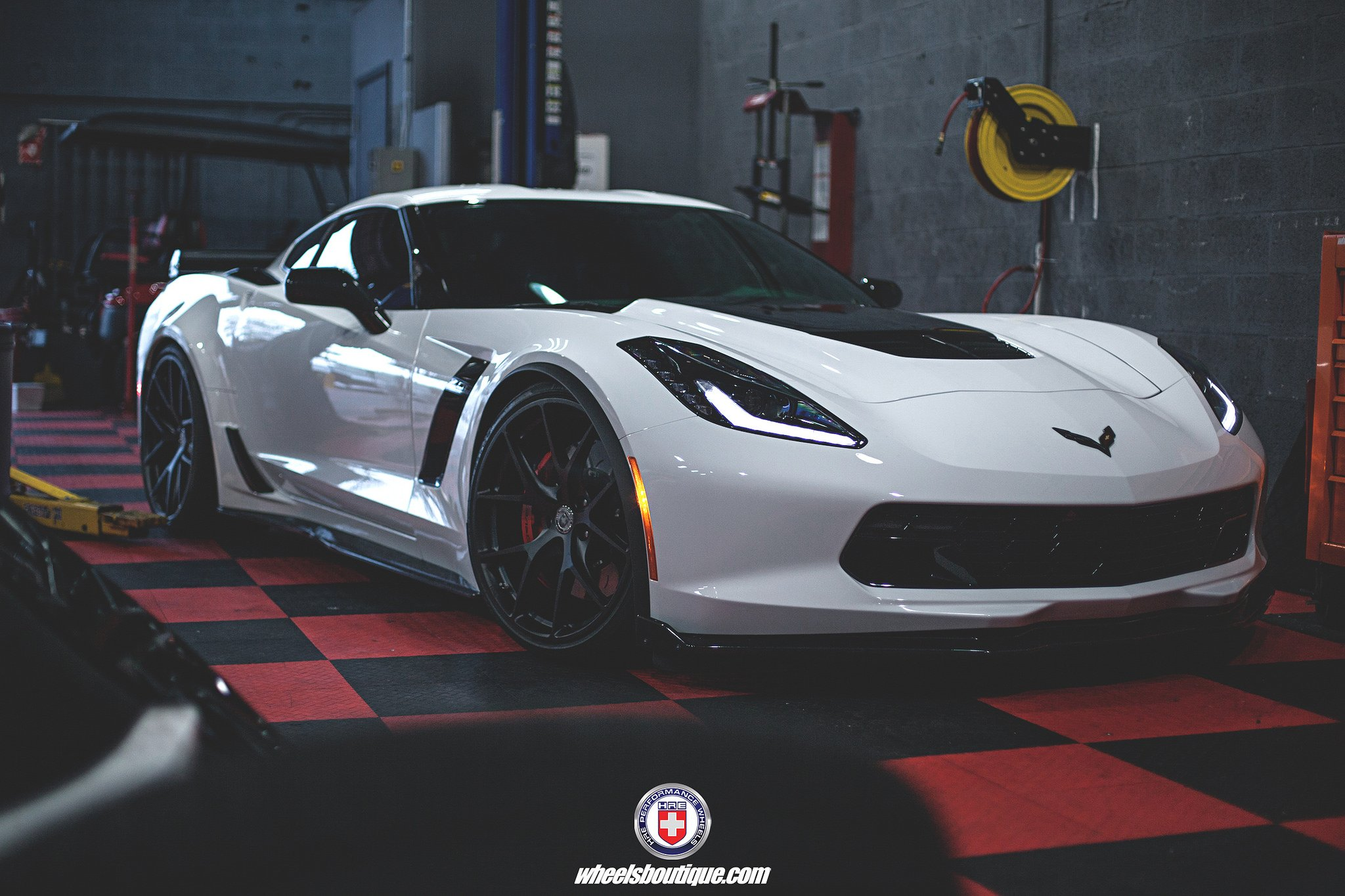 chevy corvette c7 z06 hre wheels coupe cars white wallpaper 2048x1365 809172 wallpaperup - Corvette C7 Z06 White