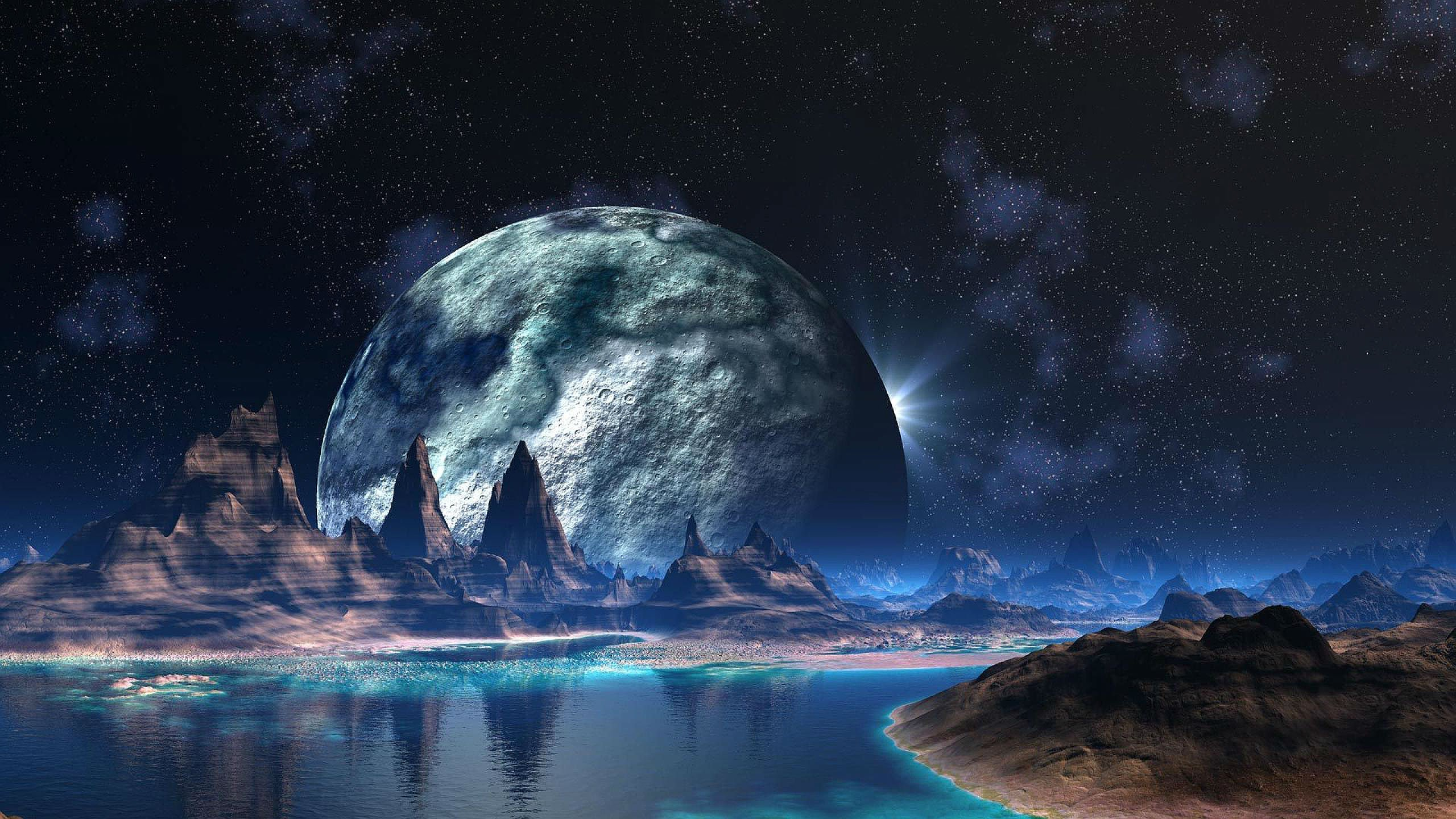 sci fi landscape alien planets - photo #25
