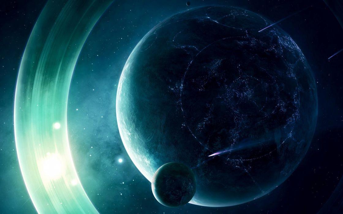 Resultado de imagen para futuristic planet