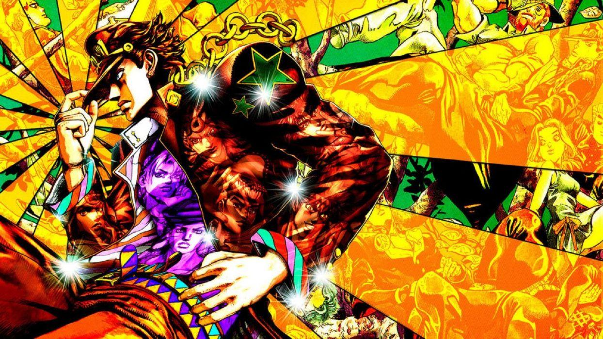 JoJo's Bizarre Adventure - Jotaro Kujo wallpaper
