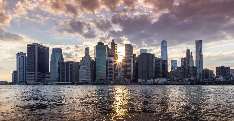 america bridge brooklyn cities City hudson landscape Lights new Night nyc river towers travelling Urban USA