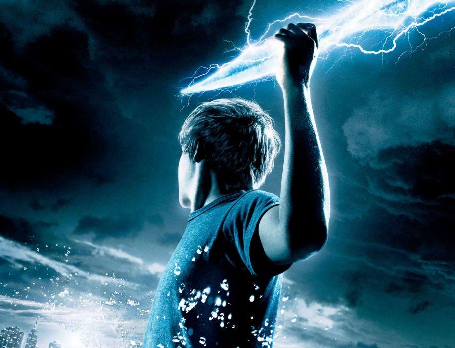 Percy Jackson Olympians Lightning Thief fantasy adventure ...