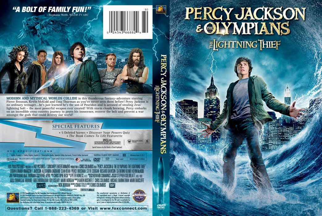 Percy Jackson Olympians Lightning Thief Fantasy Adventure Family Gods 1pjolt Poster Wallpaper