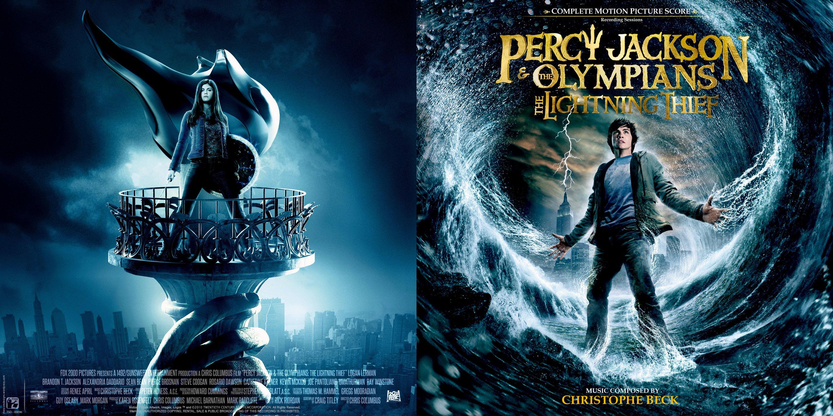 Percy Jackson Olympians Lightning Thief fantasy adventure family gods 1pjolt poster wallpaper   2850x1425   810988   WallpaperUP