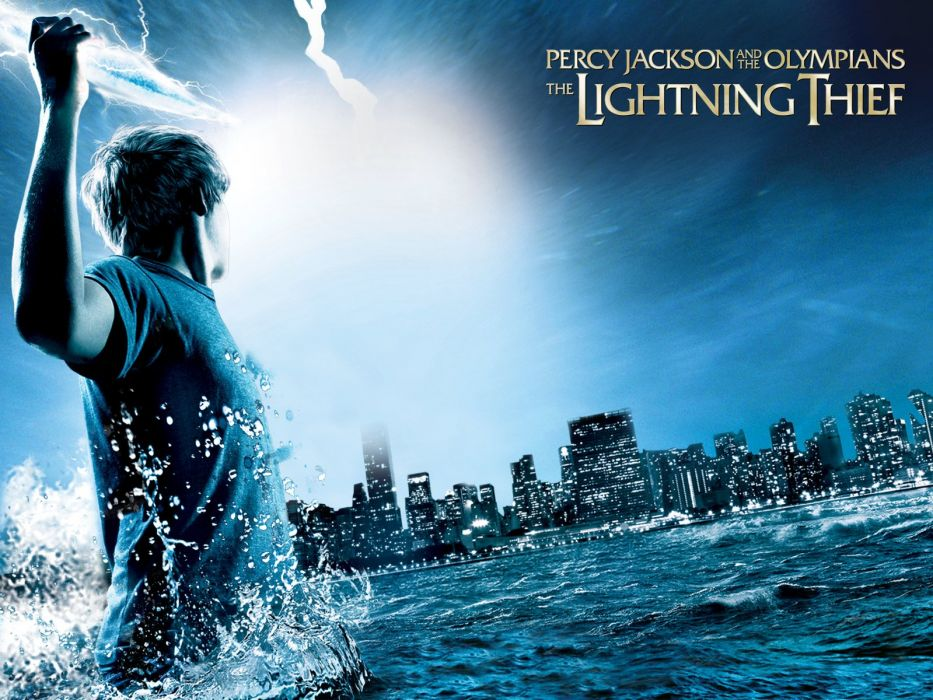 Percy Jackson Olympians Lightning Thief Fantasy Adventure Family Gods 1pjolt Poster Wallpaper 1600x1200 810994 Wallpaperup