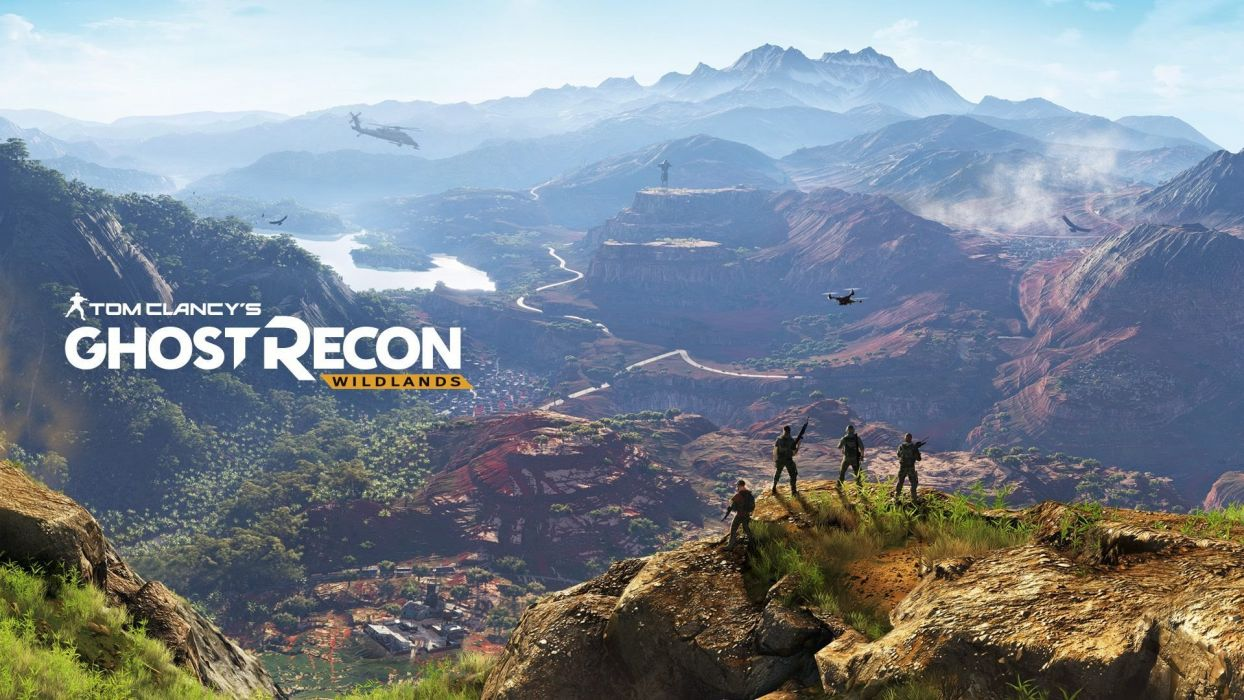 GHOST RECON WILDLANDS military shooter action fighting warrior war 1grw poster wallpaper