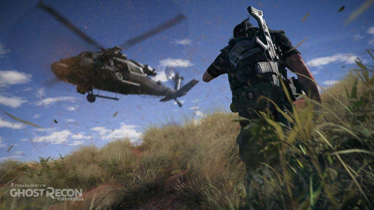 GHOST RECON WILDLANDS military shooter action fighting warrior war 1grw poster wallpaper