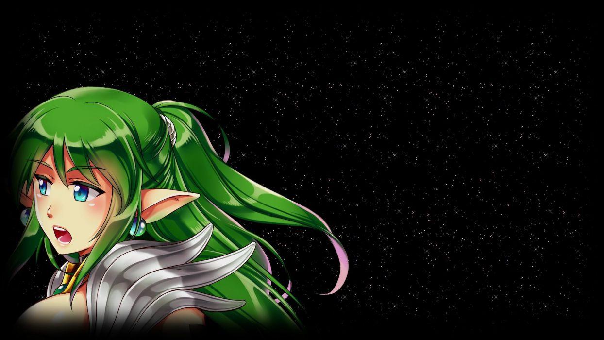3 STARS Of DESTINY fantasy anime rpg adventure exploration elf elves 3stars poster wallpaper