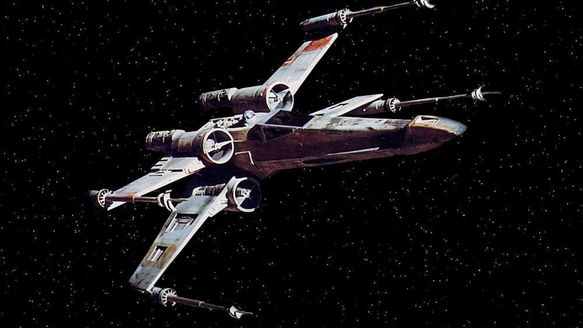 star wars x wing spaceship futuristic space sci fi xwing