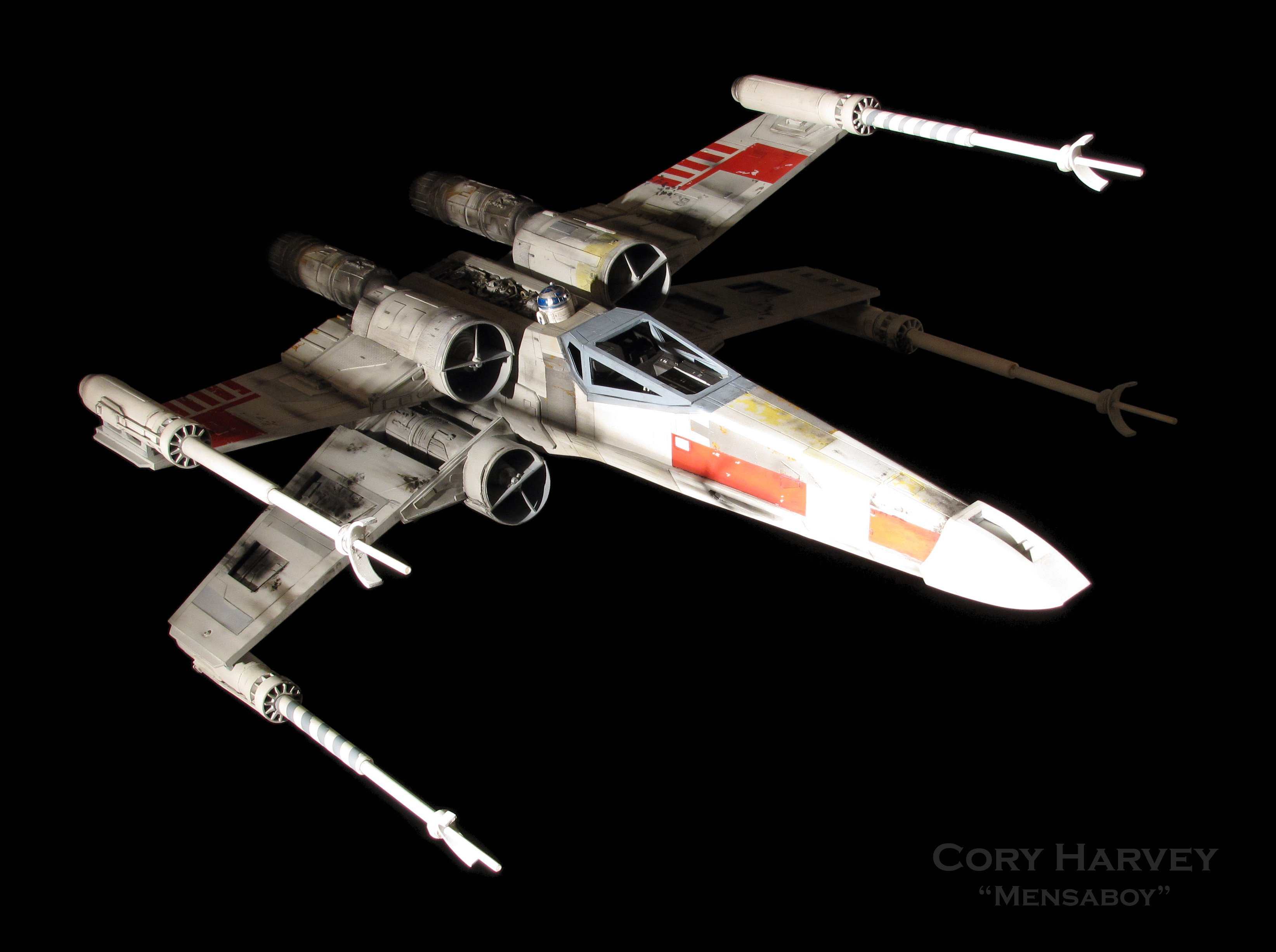 Star Wars X Wing Spaceship Futuristic Space Sci Fi Xwing Wallpaper 3288x2452 811225 Wallpaperup