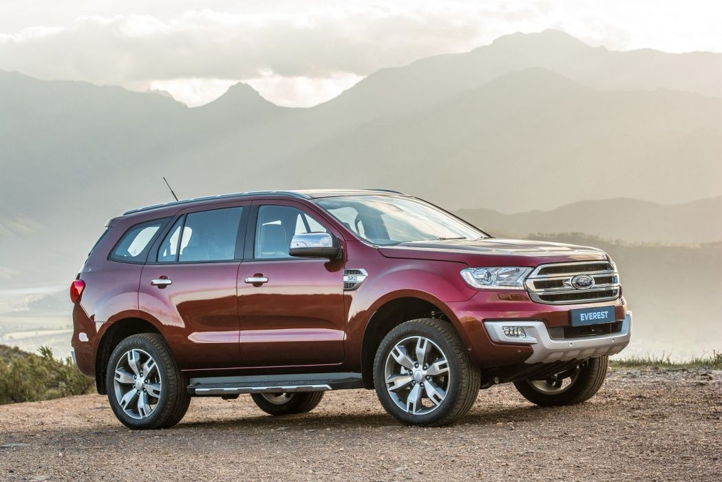 Ford Everest ZA-spec cars suv 2015 wallpaper