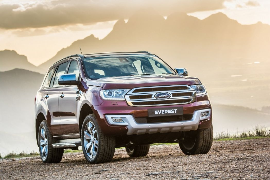 Ford Everest ZA-spec cars suv 2015 wallpaper