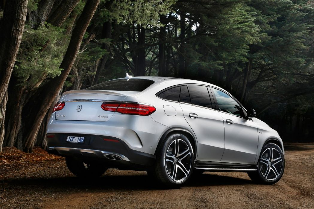 Mercedes AMG GLE 450 4MATIC Coupe AU-spec (C292) cars suv 2015 wallpaper