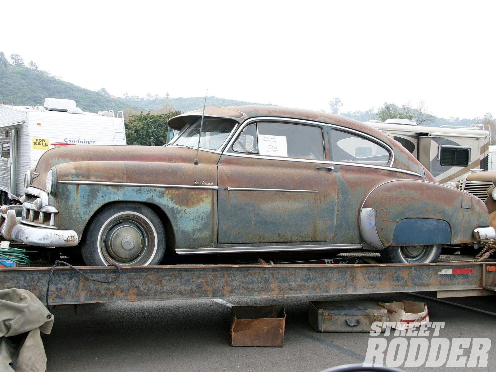 1949 chevrolet fleetline 2 door old rust vintage usa for 1949 chevy fleetline 2 door for sale
