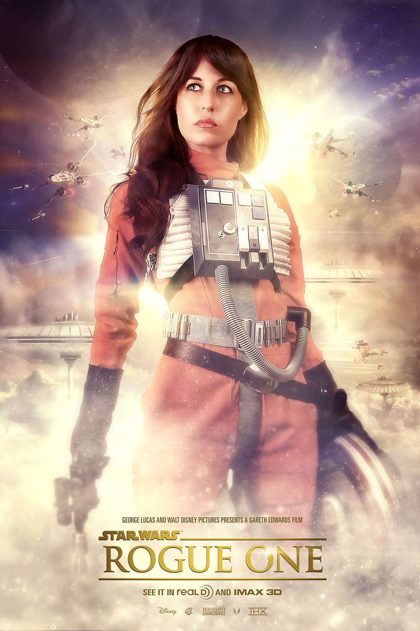 Rogue One Star Wars Story Sci Fi Space Futuristic Opera 1rosw Disney Action Fighting Poster Wallpaper 1440x2160 811985 Wallpaperup