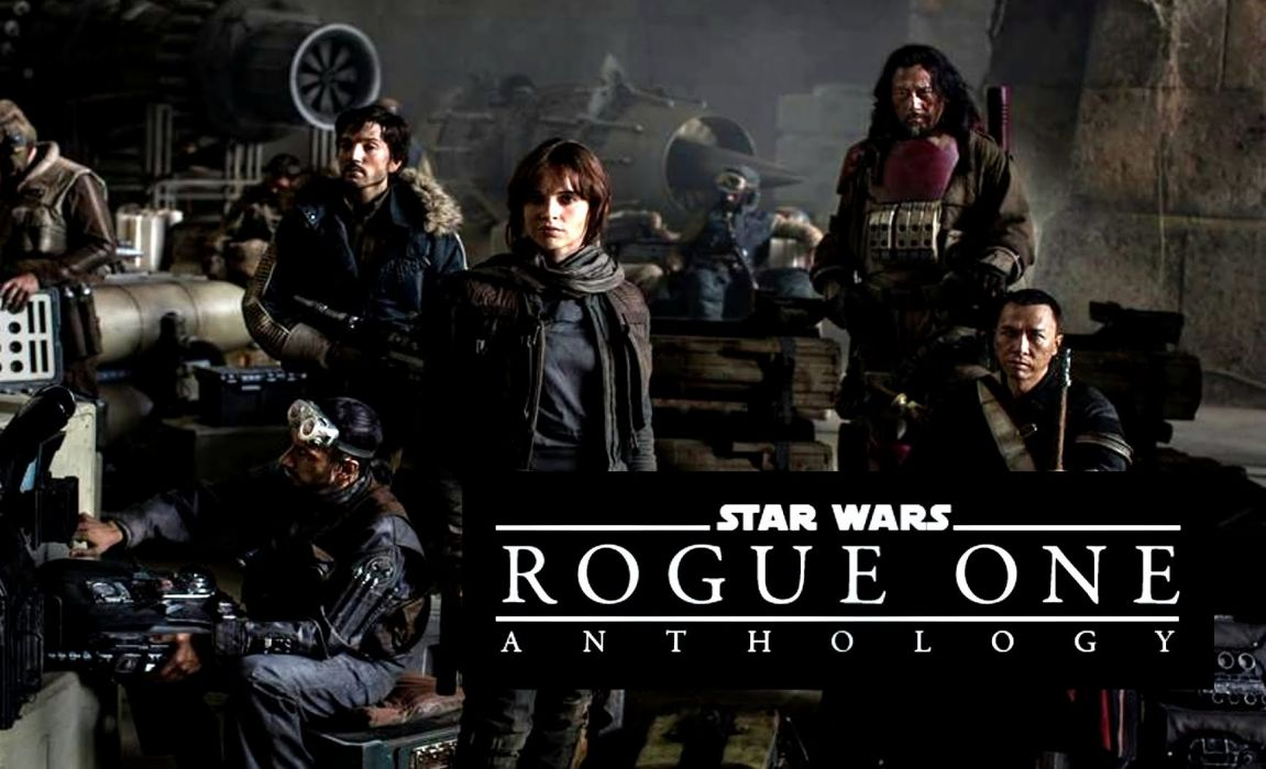 Rogue One Star Wars Story Sci Fi Space Futuristic Opera 1rosw Disney Action Fighting Poster Wallpaper 1733x1054 812012 Wallpaperup