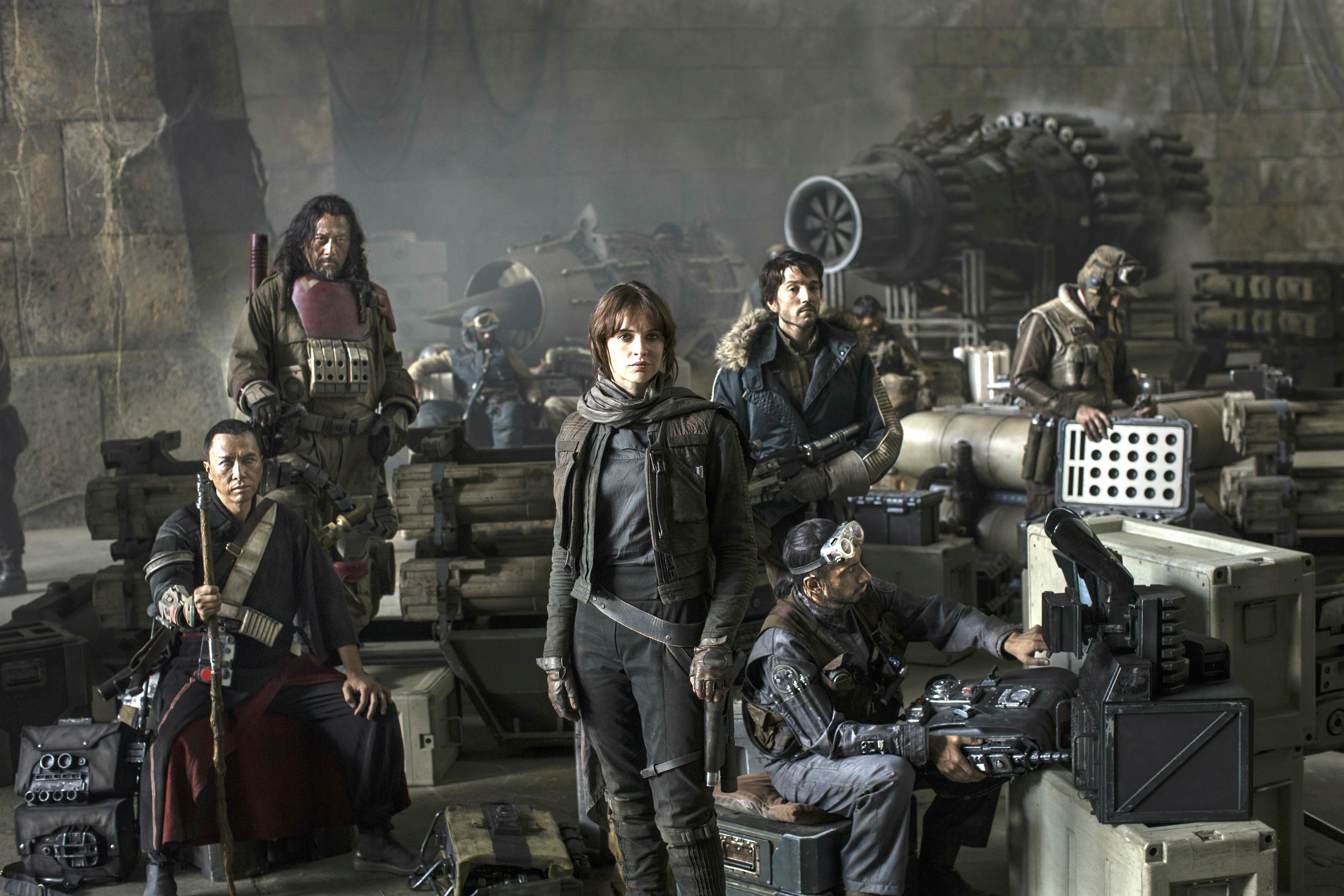 Rogue One Star Wars Story Sci Fi Space Futuristic Opera 1rosw