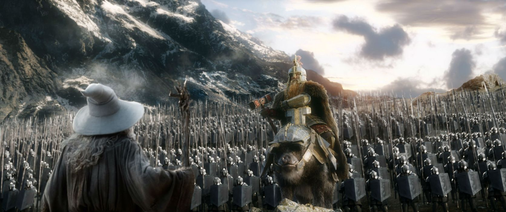 HOBBIT BATTLE-FIVE-ARMIES lotr fantasy battle armies lord rings adventure wallpaper