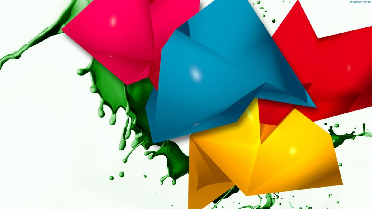 abstracto colores 3d wallpaper