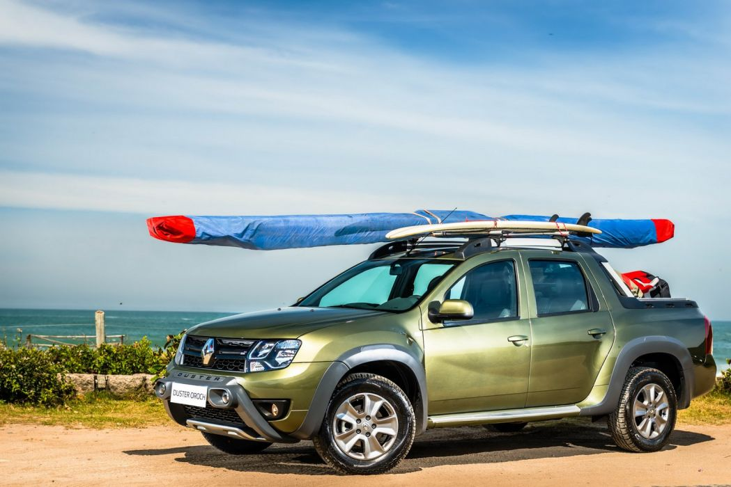 2015 renault Duster Oroch Pickup Truck cars wallpaper
