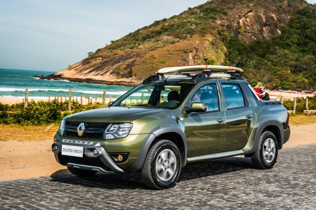 2015 Renault Duster Oroch Pickup Truck Cars Wallpaper 1600x1068