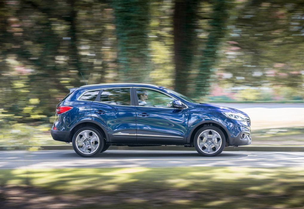 2016 blue cars french Kadjar renault suv uk-version wallpaper