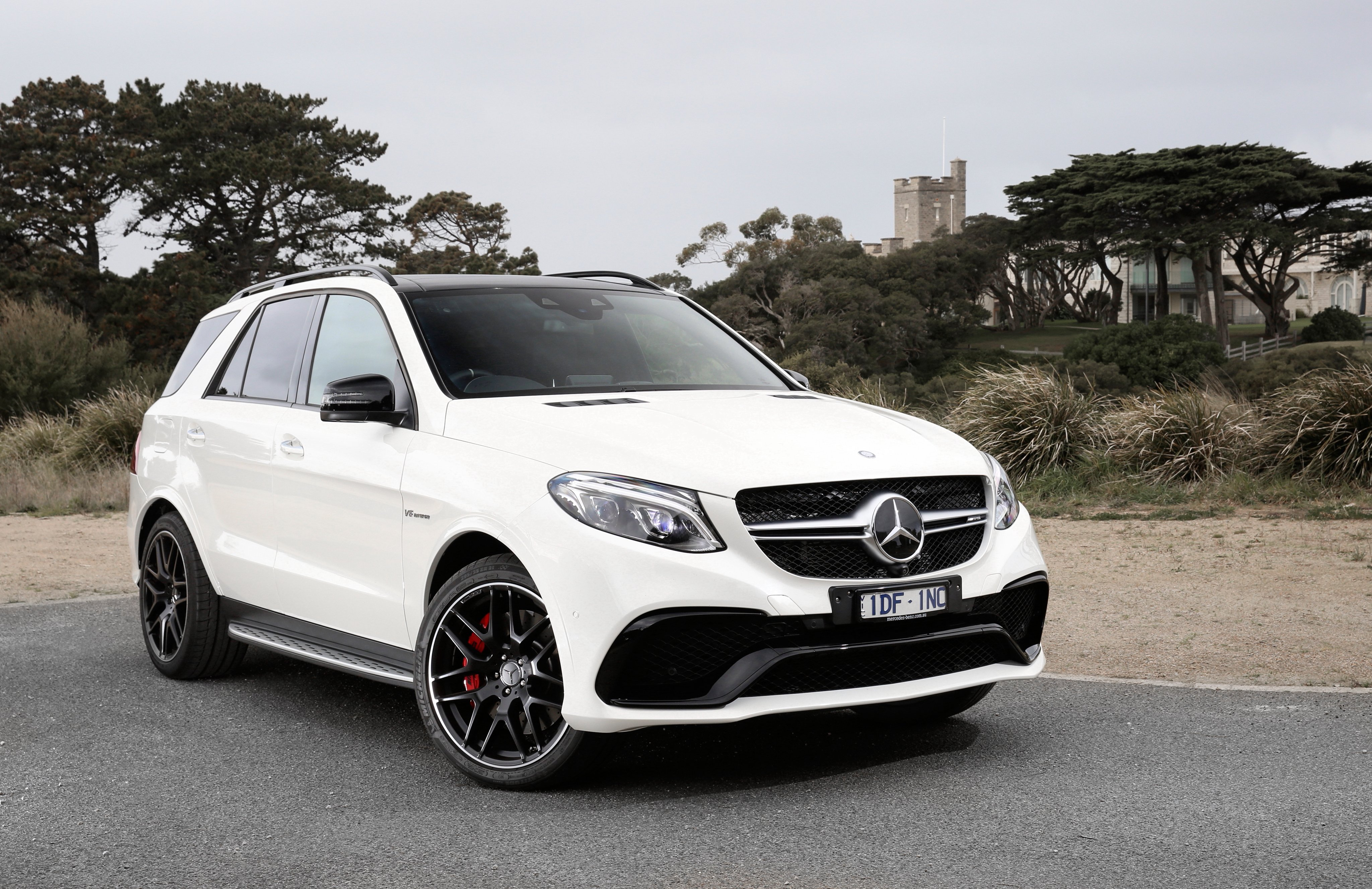 mercedes amg gle 63 s 4matic au spec w166 cars suv white. Black Bedroom Furniture Sets. Home Design Ideas