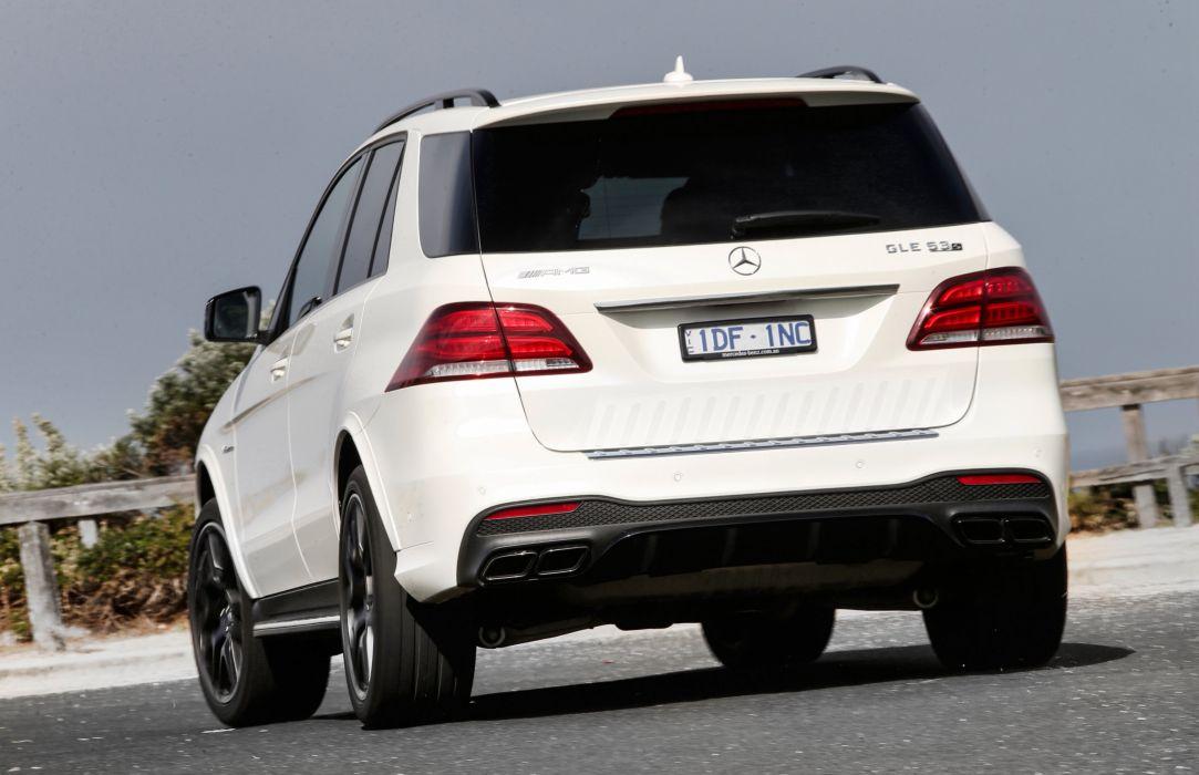 Mercedes AMG GLE 63-S 4MATIC AU-spec (W166) cars suv white 2015 wallpaper