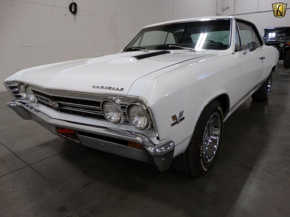 1967 Chevrolet Chevelle cars chevy white wallpaper
