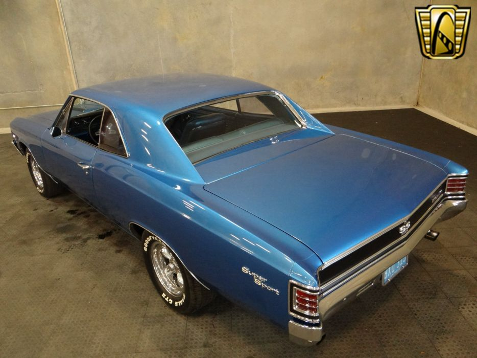 1967 Chevrolet Chevelle cars chevy blue wallpaper