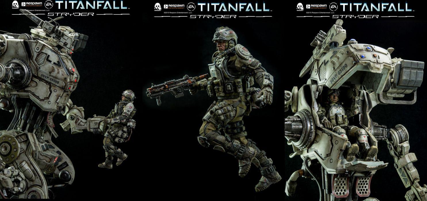 TITANFALL sci-fi mecha robot futuristic poster g wallpaper