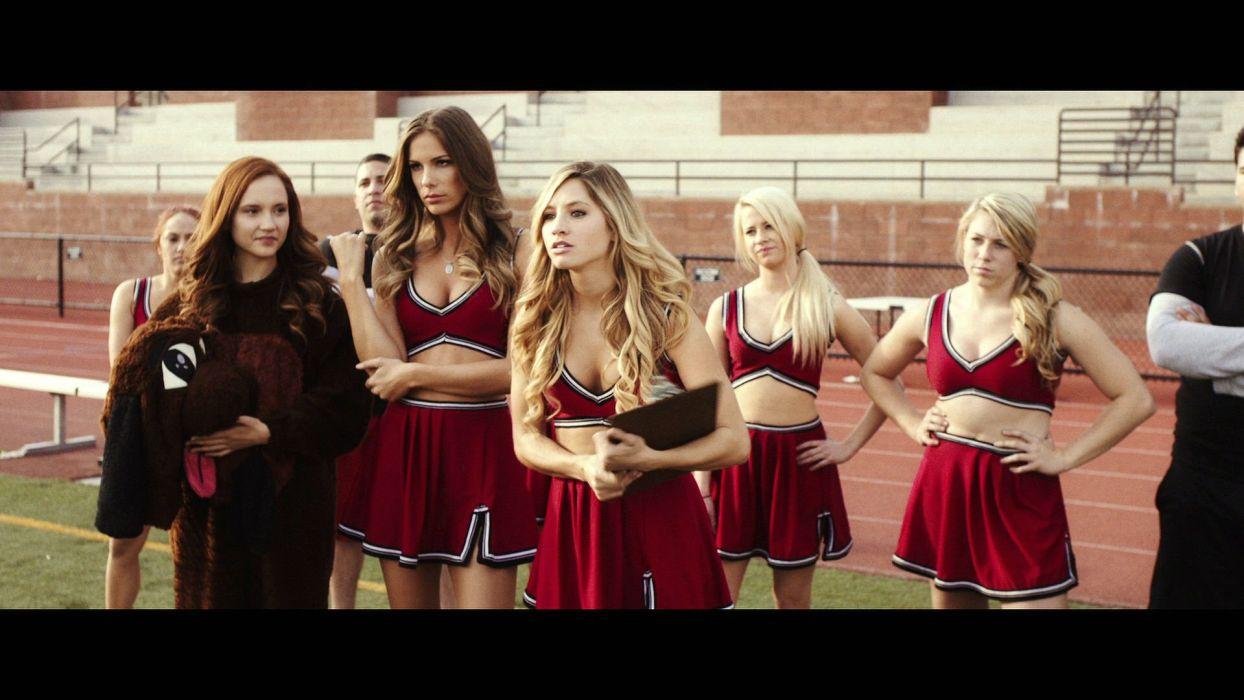 ALL CHEERLEADERS DIE horror cheerleader sports dark sexy babe girl poster movie film 1acd wallpaper
